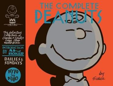 "A volume of ""The Complete Peanuts."""